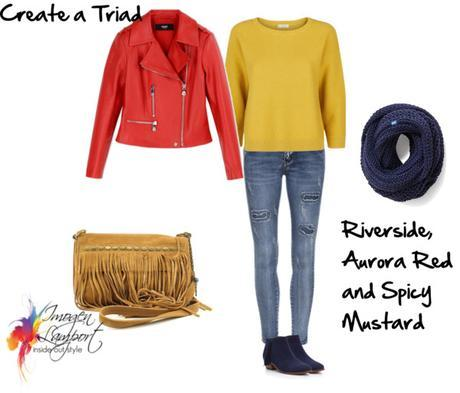 triad color scheme with pantone 2016 fall colours