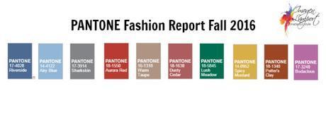 pantone fashion report fall 2016