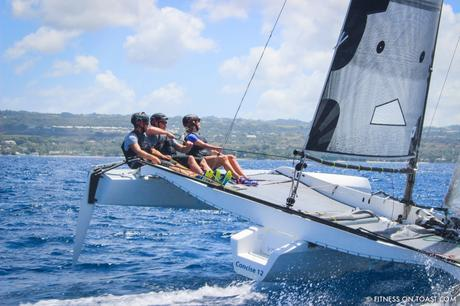 Fitness On Toast Faya Blog Girl Healthy Workout Active Health Travel Helly Hansen Barbados Sailing Team Concise Caribbean Destination-38
