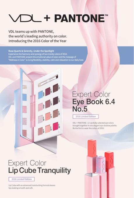 VDL Pantone Expert Color Lip Cube Tranquility products