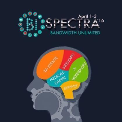 CEG, Anna University (BMEA) – Technical Symposium of Biomedical Engineers – Biospectra – 2016