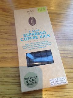 Marks & Spencer Espresso Coffee Kick Bars