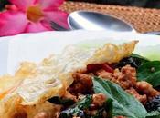 Thai Basil Pork Rice (Pat Krapaw Sap)