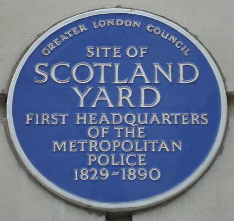 #plaque366 Scotland Yard @metpoliceuk