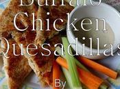 Buffalo Chicken Quesadillas