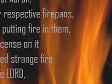 Strange Fire Jesus Calling
