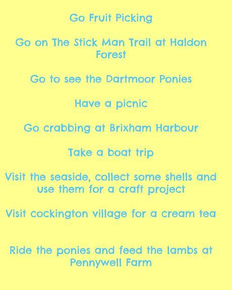 Our Spring Bucket List