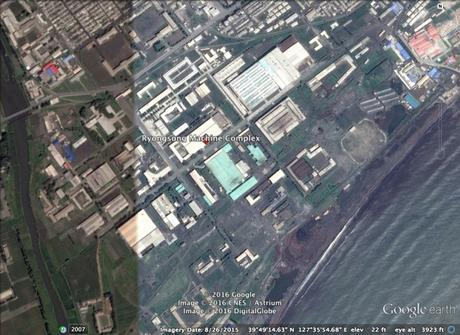 Ryongso'ng Machine Complex (Photo: Google image)