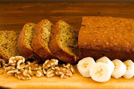 Paleo Breakfast Banana_Bread_with_Walnuts Recipe Featured Image
