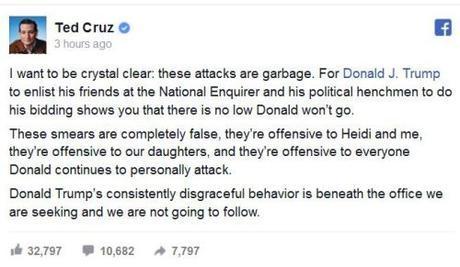 Ted Cruz Facebook