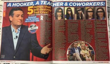 National Enquirer on Ted Cruz's mistresses