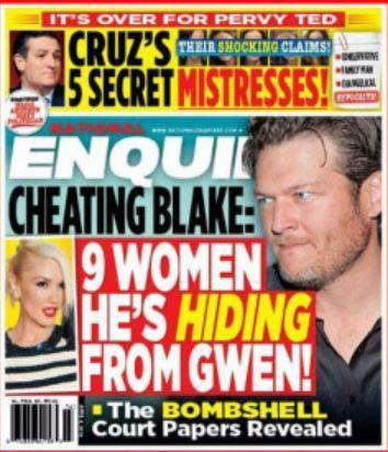 National Enquirer cover on Ted Cruz
