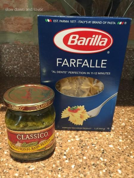 Ally Special Dinner: Chicken Pesto Pasta