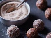Peanut Chocolate Chia Quinoa Truffles
