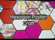 Hexagon Poster Craft Tutorial