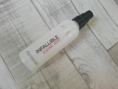 L'OREAL INFALLIBLE FIXING MIST REVIEW