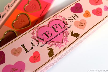 Too Faced Love Flush Blush Wardrobe