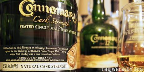 Connemara Cask Strength Label