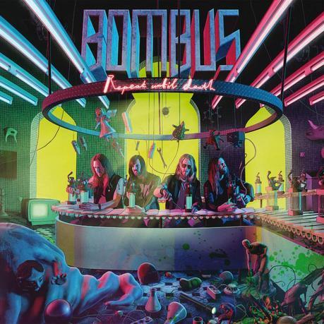 BOMBUS: new album 'Repeat Until Death' released!