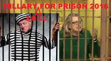 Bill & Hillary for prison 2016