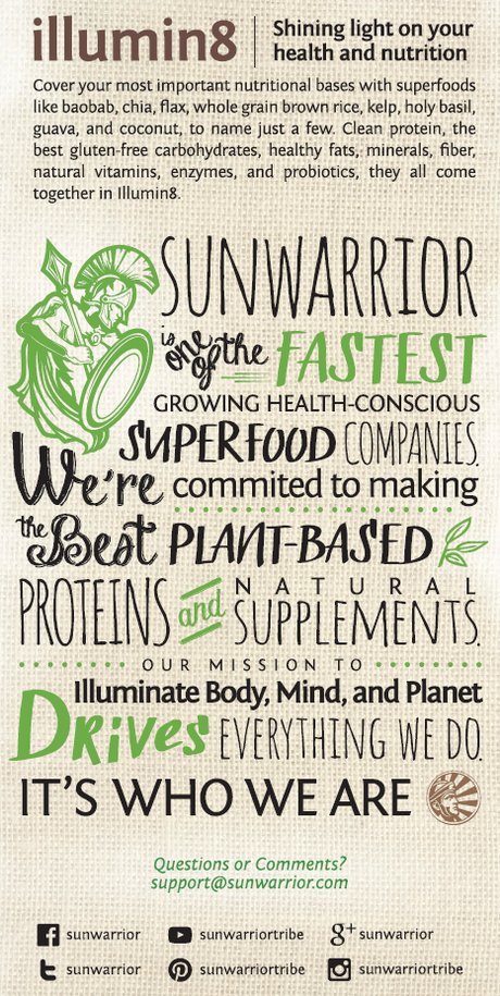 Sunwarrior Meal replacement powder
