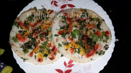 Mixed Vegetable Uttappam Recipe, How to make Vegetable Uthappam Recipe