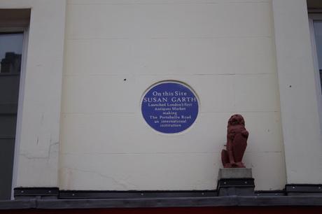 #plaque366 Susan Garth #PortobelloRoadMarket
