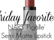 Friday Favorite: NARS Pigalle Lipstick