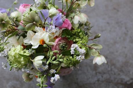 Spring Bridal Bouquets