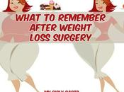 What Remember After Weight Loss Surgery