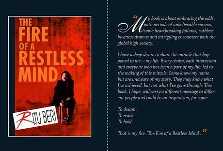 Ritu Beri Book Launch : The Fire Of  A Restless Mind - To Dream, To Reach, To Hold