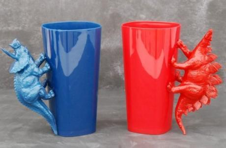 Toy Dinosaur Cup Handles