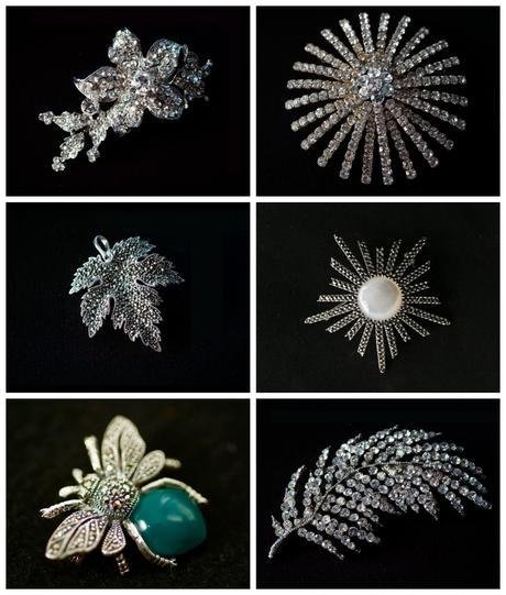 Miss Fisher Collection brooches