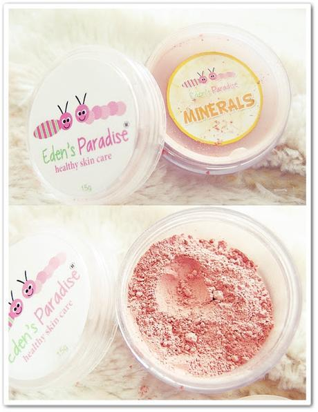 Eden's Paradise: Mineral Clay Powder and Blush Review