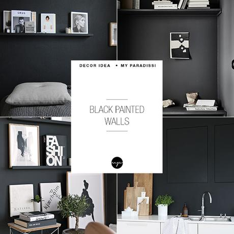 10 Black Painted Walls To Inspire You Paperblog