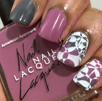 Twinsie Tuesday: Gradient With Stamping