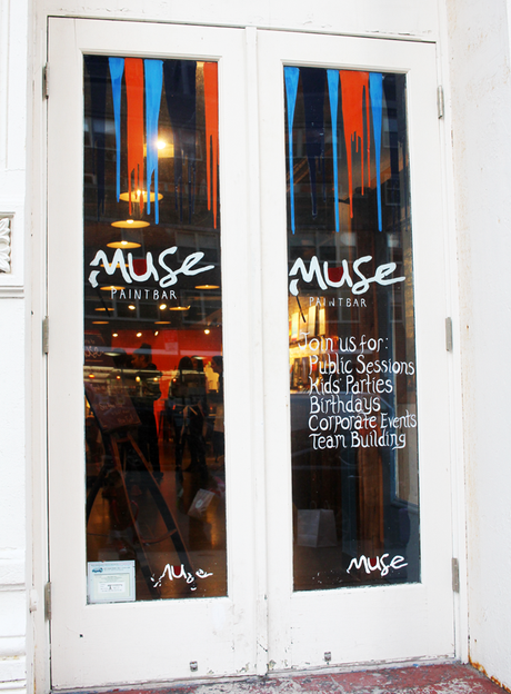 A Fun Date Night At Muse Paintbar Paperblog