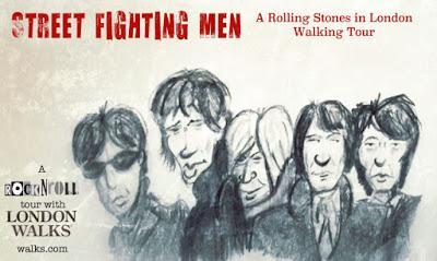 The #RollingStones In #London Walk: 23 Days to Go!