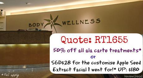 Body Wellness, Apple Seed Extract Customised Facial Review | Sponsored