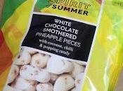 M&S Spirit Summer White Chocolate Pineapple Pieces with Coconut, Chilli Popping Candy