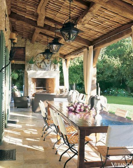 Summer is coming:  Bring on the Outdoor dining!