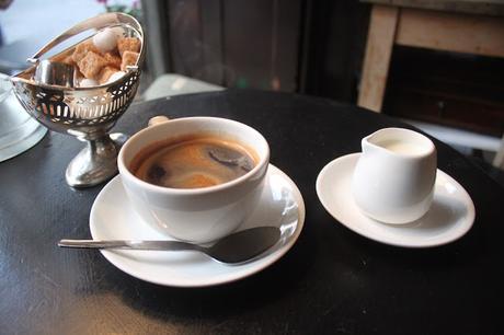 Damn Fine Cup O' Coffee in #Spitalfields Verde & Co