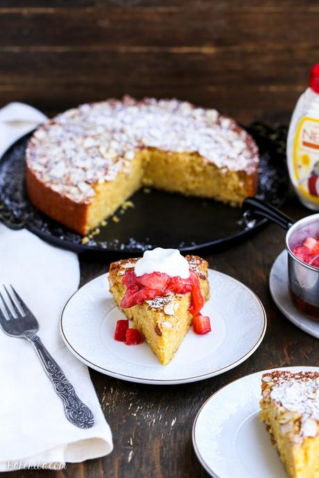 ... Free Honey Cornmeal Cake with Strawberry Compote + Honey Whipped Cream