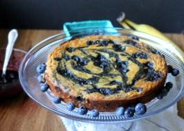 Cornmeal Cake Peach Cornmeal Upside Down Cake Paleo Banana Blueberry ...