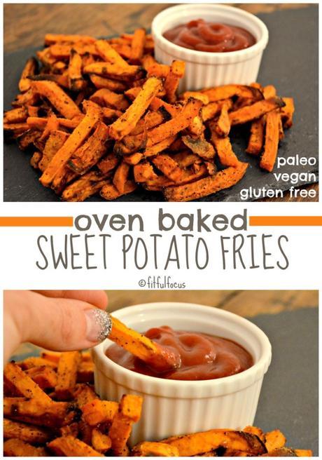 Oven Baked Sweet Potato Fries {paleo, Vegan, Gluten Free} - Paperblog