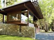 Frank Lloyd Wright-Inspired Style Camping Collide Maine