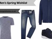 Men's Spring Wishlisht