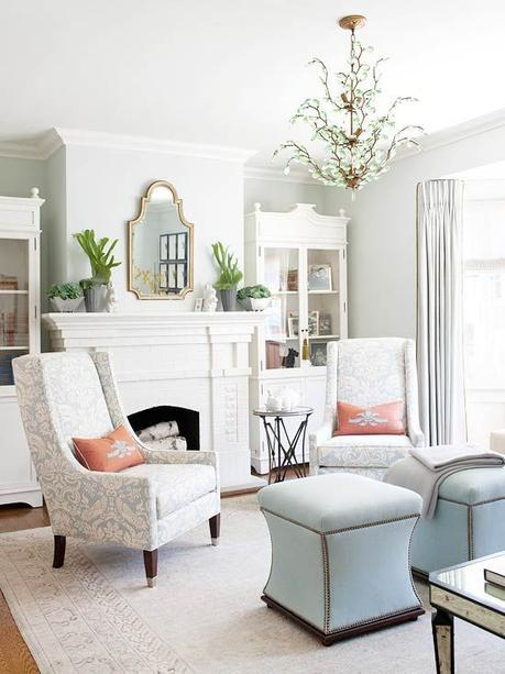Mix patterns like a pro by following this simple rulebook. One way to mix patterns is by starting basic. Try three patterns in a range of scales. Make sure to include lots of solid colors or neutrals in the room to keep things looking organized.: