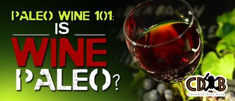 Is Wine Paleo Banner