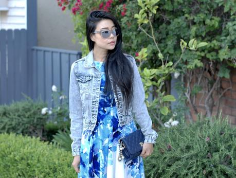 Spring Style | Roses and Denim